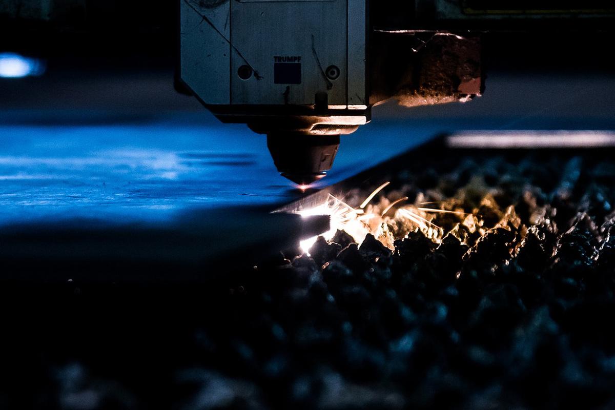 Laserschneiden mit High-Speed Faserlaser