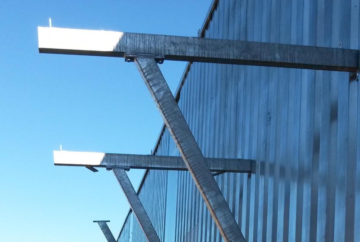 Treppengeländer und Balkone oder Edelstahlgeländer